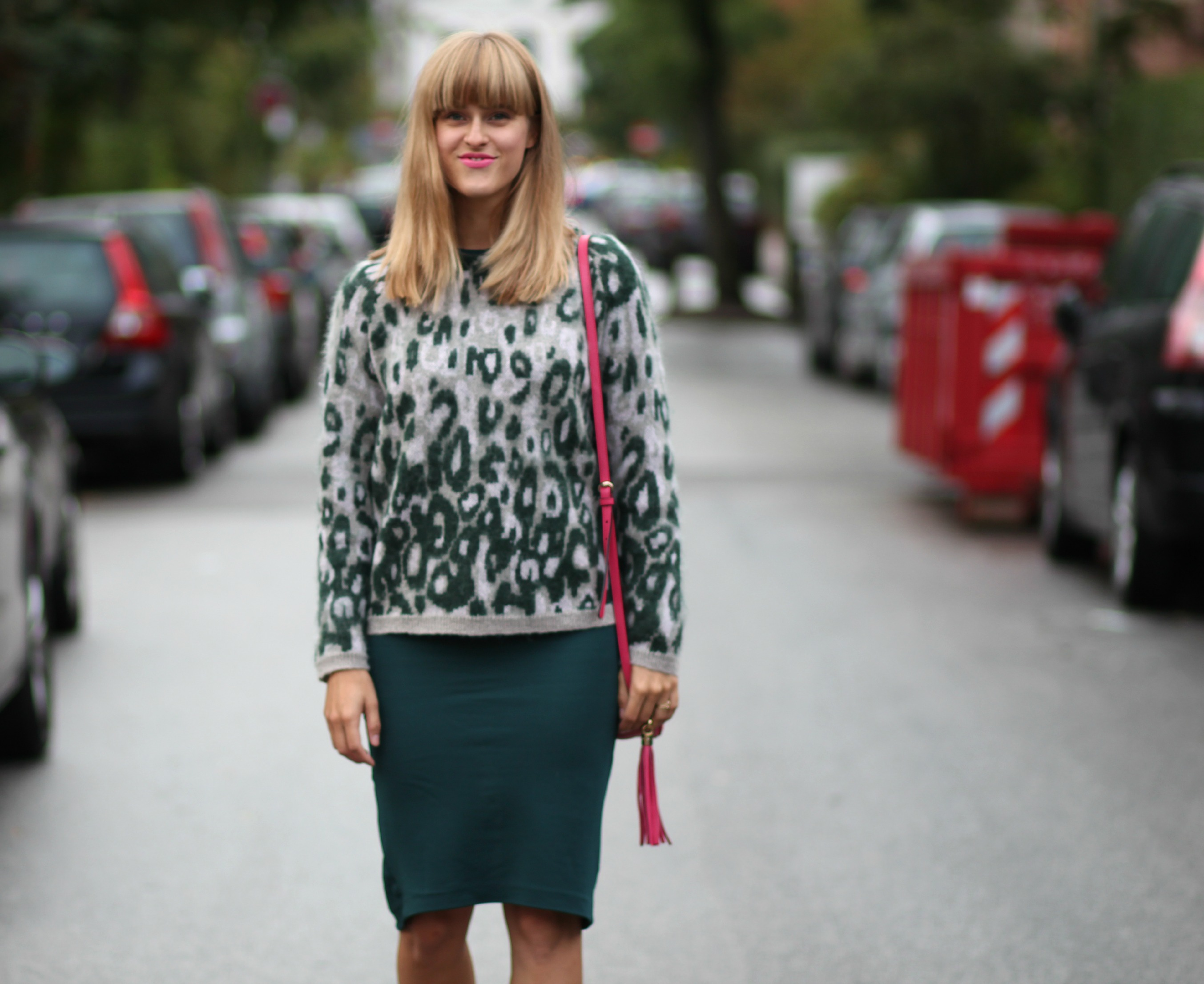 Designers remix, leo knit, pink gucci soho disco, rockpaperdresses, scandinavian blogger, ootd